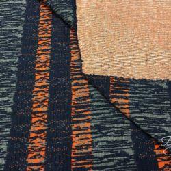 Серый с Оранжевым Трикотаж Германия