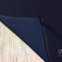 Темно-синяя в Ромбик Ткань Стрейч