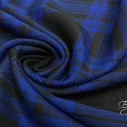 Синяя Шотландка Тартан Италия