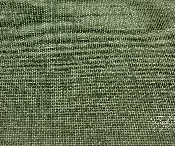 Комплект Зеленых Штор под Лен
