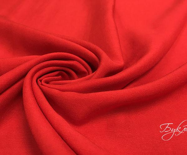 Ткани стрейч красный купить платья лен с вискозой