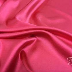 Коралловый Розовый Шелк Атлас
