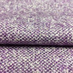 Фиолетовая с Белым Смесовая Шерсть
