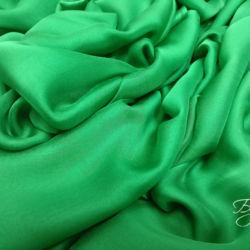 Зеленый Шелк Шифон