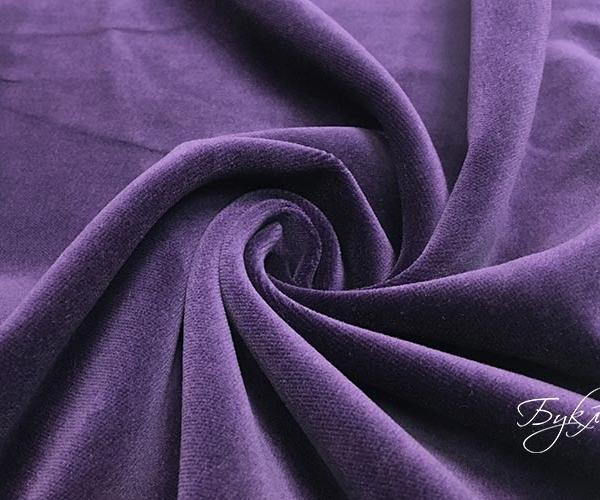 Фиолетовый Бархат Хлопок