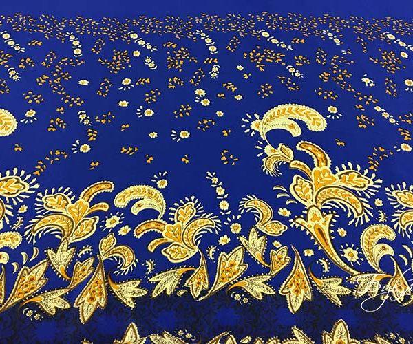 Синий с Желты Креп Италия