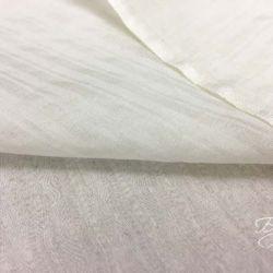 Белый Рифленый Шелк Батист