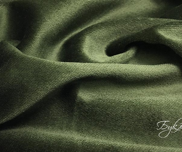 Зеленый Бархат Хлопок