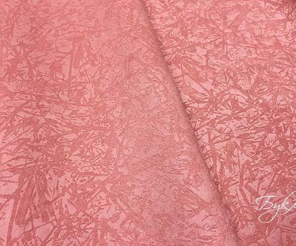 Розовая Портьерная Ткань