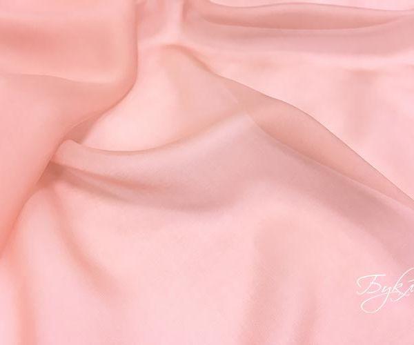 Розовый Шелк Шифон