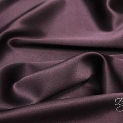 Темно-фиолетовый Шелк Атлас