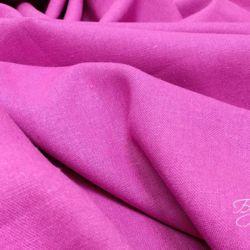 Розовый Лен Однотонный