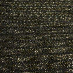 Черный с золотом Вязанный Трикотаж