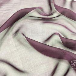 Фиолетовый Шифон Шелк