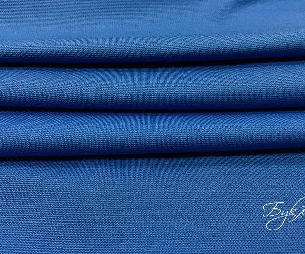 Синий Трикотаж Джерси