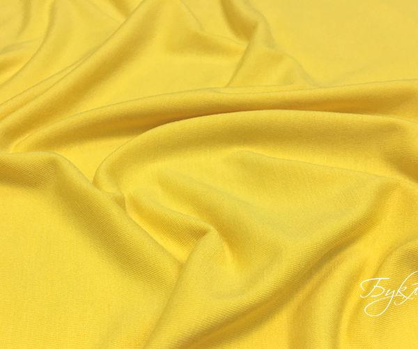 Трикотаж Желтый Вискоза