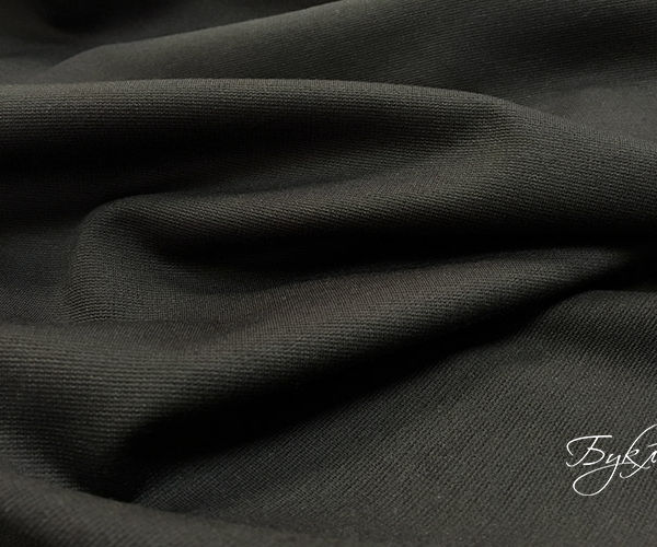 Темно-коричневый Трикотаж Джерси