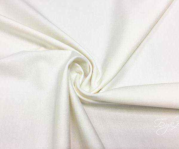 Белый Смесовый Трикотаж