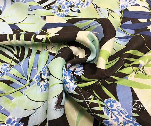 Штапель с Листьями и Цветами