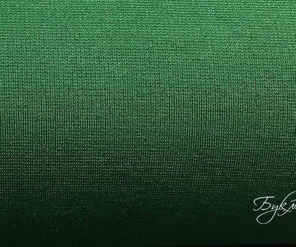 Зеленый Смесовый Трикотаж