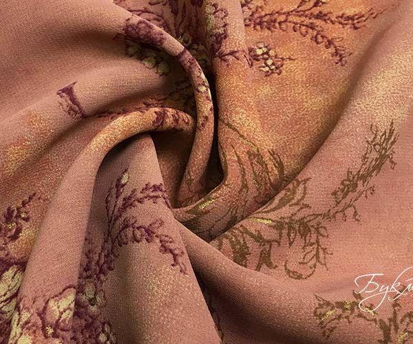 Грязно-розовый Штапель