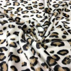 Бежевый Мех Леопард
