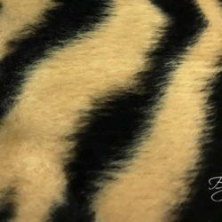 Бежевый Мех Тигр
