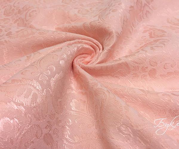 Розовый Хлопок Жаккард Германия