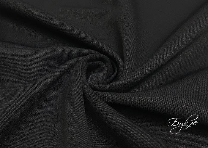 Купить ткань черную стрейч джинсы из ткани