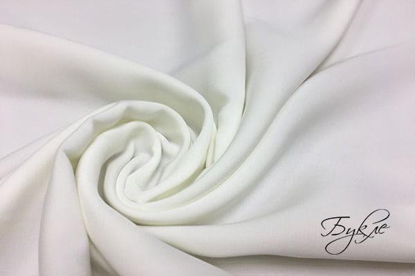 Белый однотонный атлас