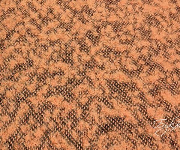 Бледно-оранжевая Шерсть Букле
