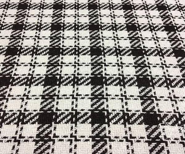 Черно-белая Шерсть в Клетку