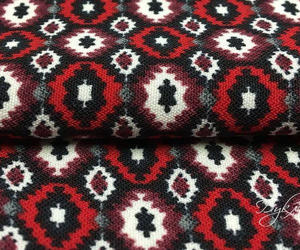 Красный Тонкий Трикотаж