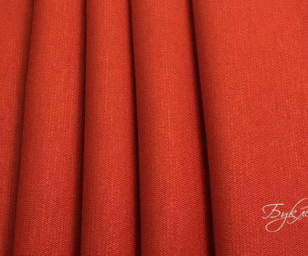 Оранжевый Плотный Трикотаж