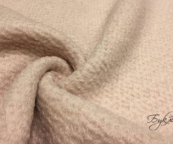 Бледно-розовая Шерсть Букле