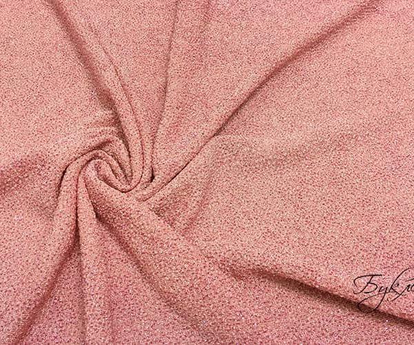 Розовый Трикотаж с Блестками