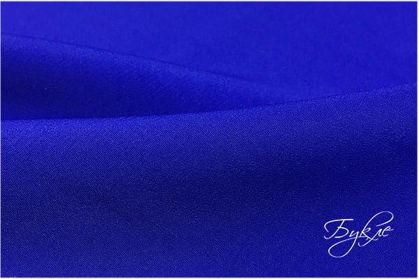 Синий креп однотонный