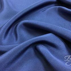 Темно-синий креп шелк Италия