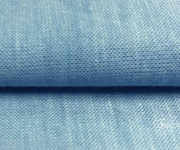 Голубой Тонкий Трикотаж