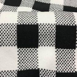 Черно-белый Трикотаж Масло