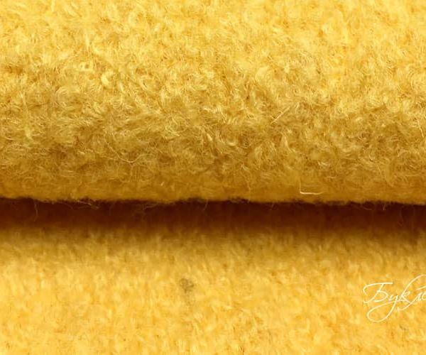 Желтая Шерсть Букле