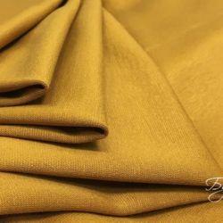 желтый плотный трикотаж