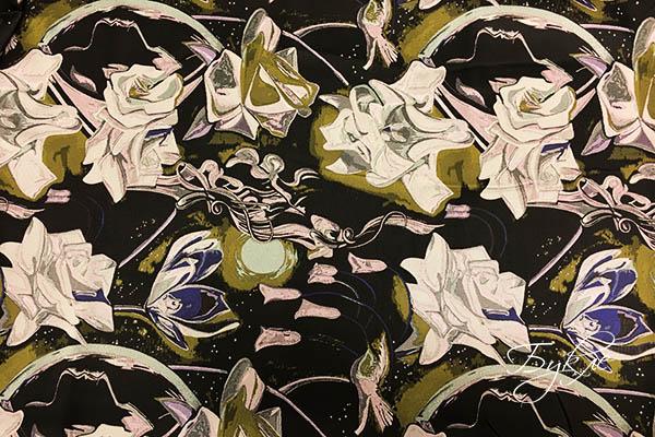 Ткань Тафта Роза