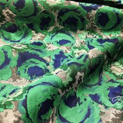 Сине-зеленая Тафта Розы