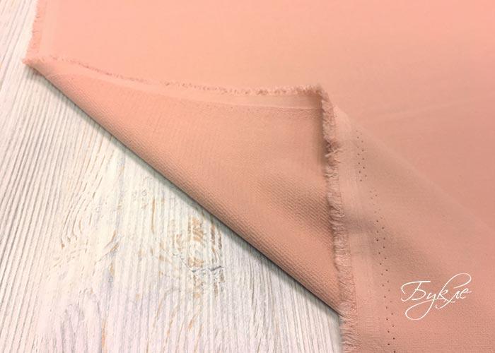 Розовая Ткань Стрейч Франция