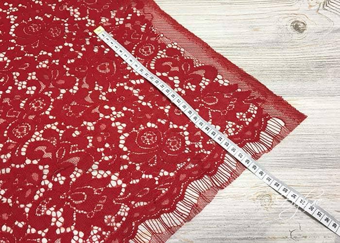 Красный Гипюр / Кружево Dolce & Gabbana