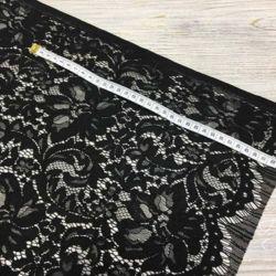 Гипюр / Кружево Черное Dolce & Gabbana