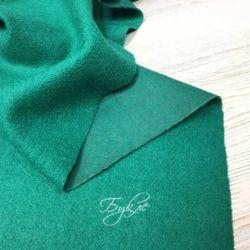 Шерсть Букле Зеленая