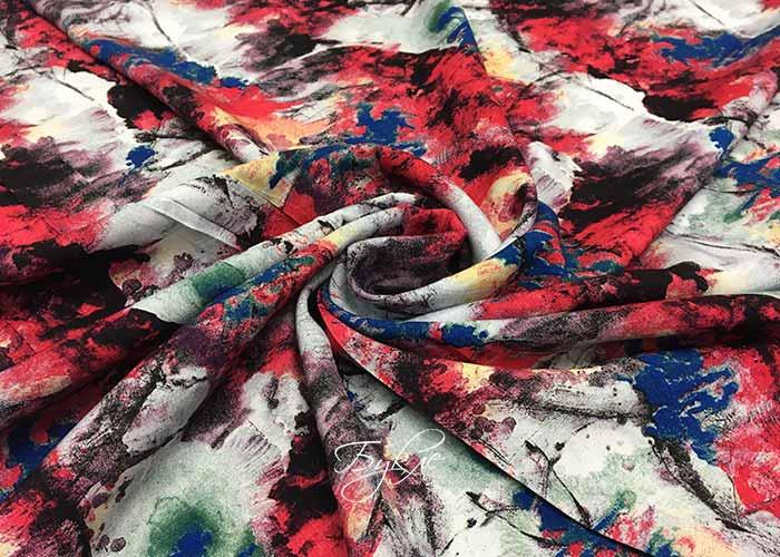 Штапель с Разноцветной Палитрой
