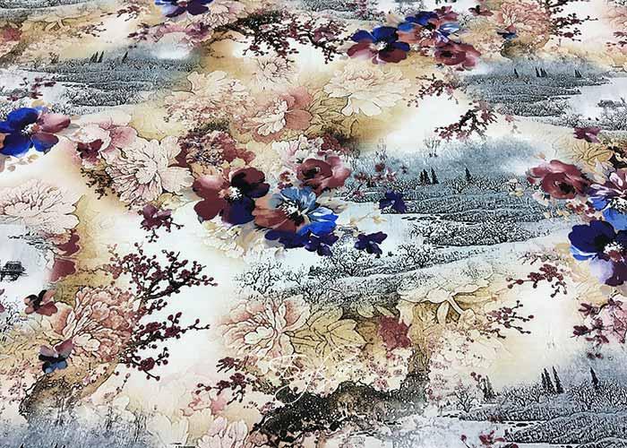 Штапель Осенняя Япония